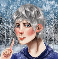 Jack Frost A tast of snow by fafner1