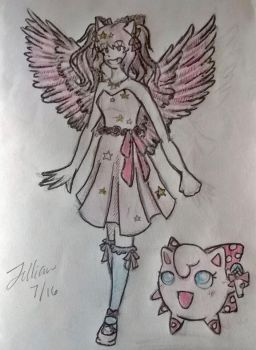 Hanakio OC for poppypandagames (request) by TheLastGamer99