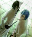 Grimmjow and Ulquiorra by ari-riot