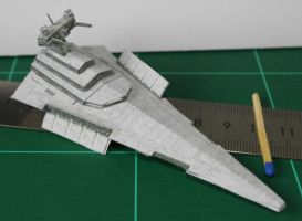 Victory class Star Destroyer - Star Wars miniature by SarienSpiderDroid