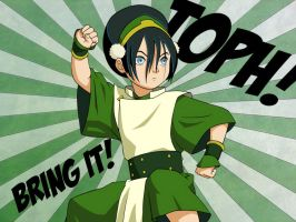 Toph Wallpaper by obsessive-fan-girl
