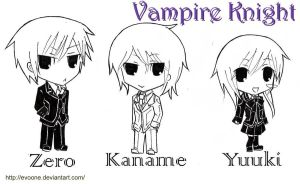 Vampire Knight Chibi by evoone