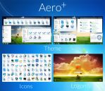 Aero+ : Windows 7 Transformation Pack by UltimateDesktops
