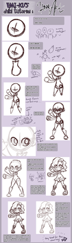Chibi Tutorial: LineART by emi-ku