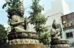 two satues of BUDDHA by YomiNoUta