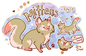 Mittens the kittens by Colonels-Corner