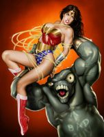 Wonder Woman in Peril 1 by Isra2007