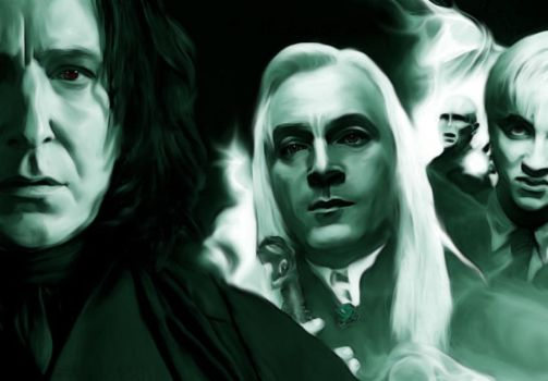 HP 6 - Death Eaters by Dhesia