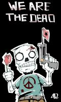 WE ARE THE DEAD coloured by eventsandbangREVIEW
