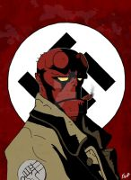 Hellboy by Boy-Darkness