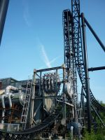 Saw: The Ride, Thorpe Park 1 by ggeudraco