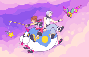 KH3D - Floating Along by rasenth