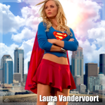 Laura Vandervoort Supergirl by PZNS