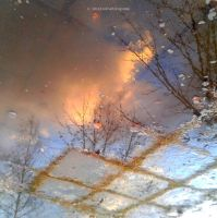 The Window Into The Winter by Ohiko4Hatsuyume