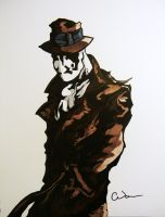 Rorschach - Watchmen by Raptchur