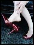 Red shoes by Chatterly