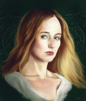 Eowyn, Shieldmaiden of Rohan by ReneAigner