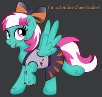 Sunlight Spring - Zombie Cheerleader by SJArt117