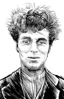 Charlie Chaplin (without make up) by Jwbalsly