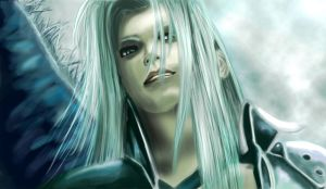 One Winged Angel by Katay