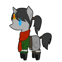 Chibi Pony Vahl by TheSilverPie
