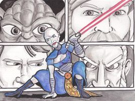 BA - Asajj Ventress by cheesebugs