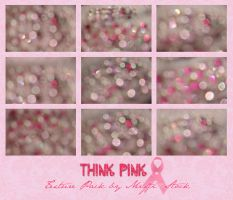 THINK PINK Bokeh Pack by Mifti-Stock