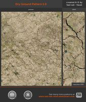 Dry Ground Pattern 1.0 by Sed-rah-Stock