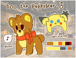 boo reference sheet 2014/2015 by amigo