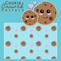 Cookie Crunch Pattern by RaindropMelody