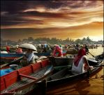 Water Village by randyrakhmadany