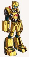bumblebee animated color by secowankenobi