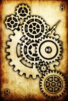 WRD: Eight of Cogs by TormentedArtifacts