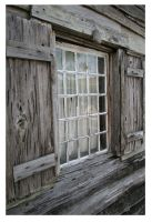 Oldest Wooden School House by marinaCborne