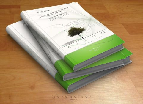 Yearbook Design cover by zeronoiser