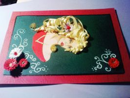 paper art - quilling 2 by AllyEdFrown