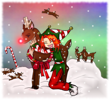 Rudolph the Red-Nosed Reindeer by HumanStick