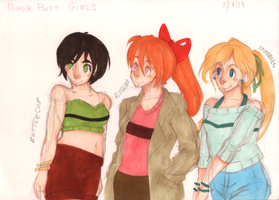 Reimagined power puffs by Handyheart