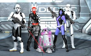 This IS the droid we are looking for ... by ShadowhawkOne
