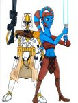 Commander Bly and General Secura by Spartan-055