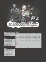 Charisma Planet Web Design by Fr1stys