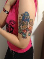 Chrono Trigger 16-Bit Cast Tattoo by Jigoku--Shoujo