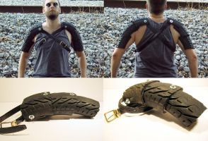 Wasteland Gladiator Armor by swanboy