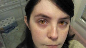 Amber Contacts by MalteseSparrow