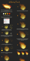 Painting fire tutorial by daughterofMyou