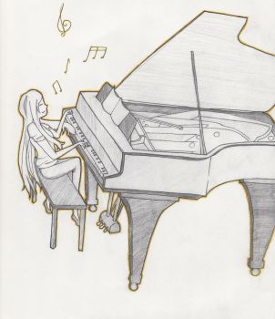 Piano Player by s6i7