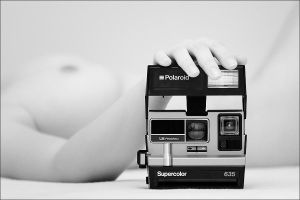 Naked Polaroid III by KrunoDebenc
