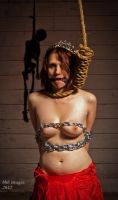 Princess chained for a grim ending by dungeonguy59