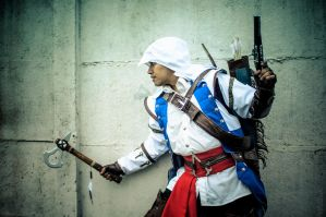 Connor Ratohnhaketon Kenway - Assassin's Creed III by Sun-Gukong