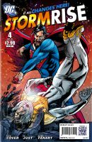 StormRise: Superman Vs. Apollo by PencilInPain